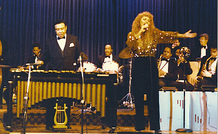 performing with Lionel Hampton